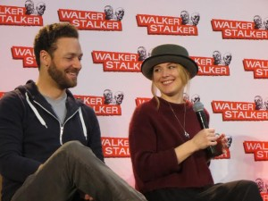 Ross Marquand & Alexandra Breckenbridge a.k.a. Aaron and Jessie